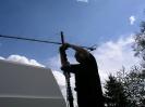 Antenne montiert DD4KO, Olaf