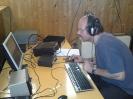 Ralf, DL1KRK an der 2m Station Ralf ist auch der Hauptorganisator. Ohne seinen Einsatz hätte es nicht stattgefunden. Danke nochmals.