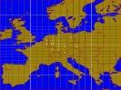 70cm Karte mit QSO pro Land