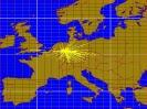 2m Karte mit den erreichten Ländern