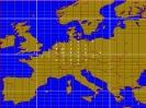 2m Karte mit QSO pro Land